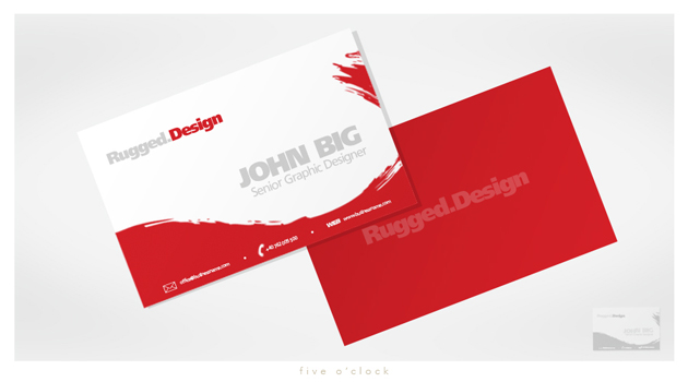 20 inspirational red business cards unique business cards design by murilovm design by fiveoclock colourmoves