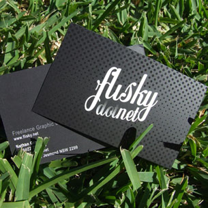 33 Black Business Cards