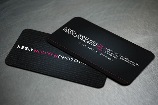 33 black business cards unique business cards kelly reheart Gallery
