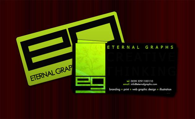 20 inspirational green business cards unique business cards design by dzeez design by heavenzart colourmoves