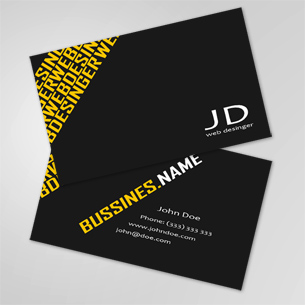 Premium and unique business card templates part 14 webmaster business card reheart Images