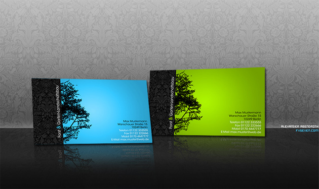 20 Inspirational Green Business Cards Unique Business Cards