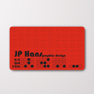 20 Inspirational Red Business Cards