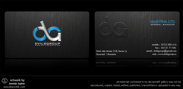 33 black business cards unique business cards design by elusive design by iblackmilk colourmoves Choice Image