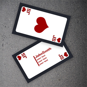 Poker Business Card