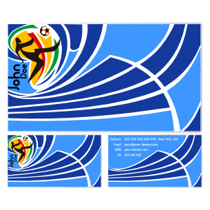 World Cup Business Cards