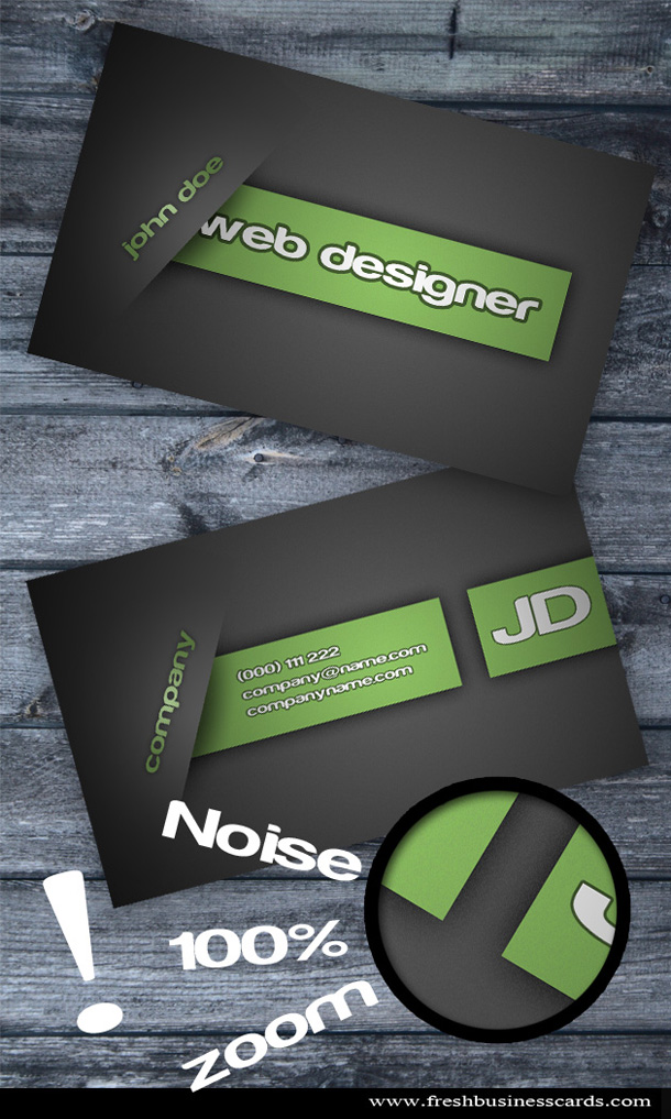 Modern Business Card   Unique Business Cards