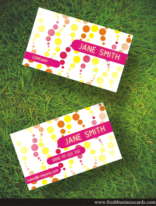 women business card - Girly Business Cards