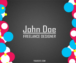 Business Card for Freelancers