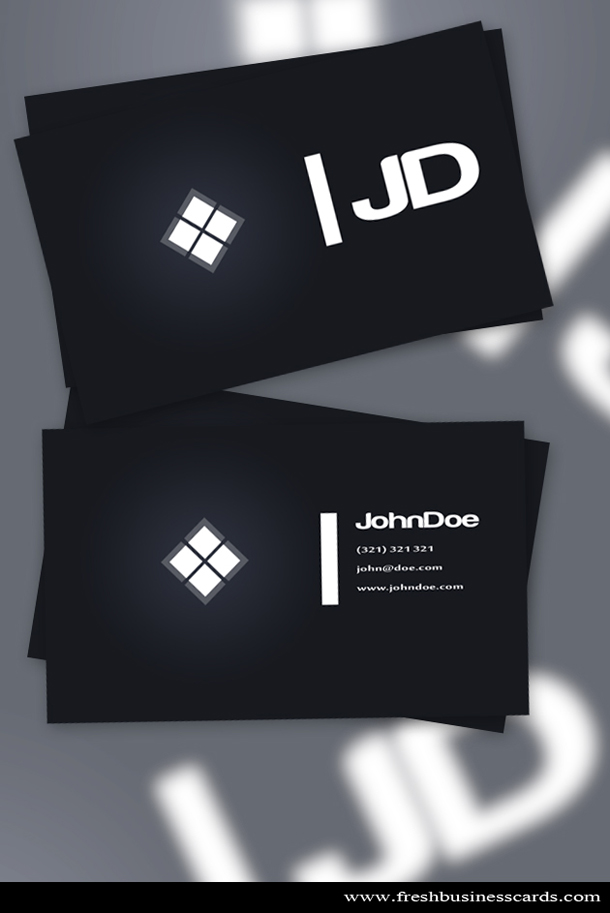 Dark business card unique business cards size colourmoves