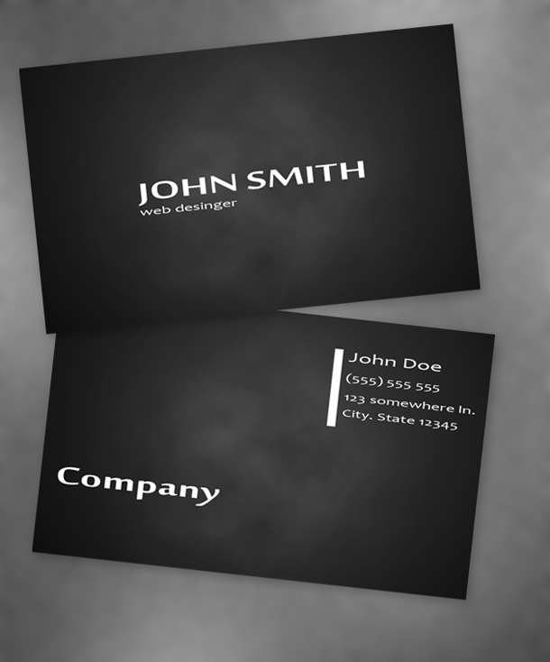 Smoke business card unique business cards size colourmoves