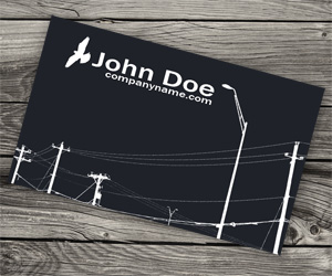 Business Card for Electrician