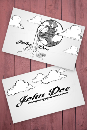 Cartoon Business Card