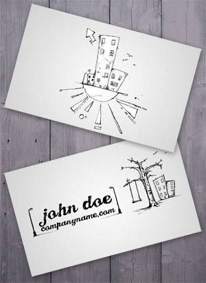 Slums Business Card