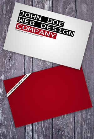 Red Business Cards
