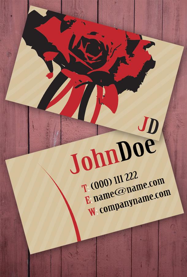 Business Card for Florists | Unique Business Cards
