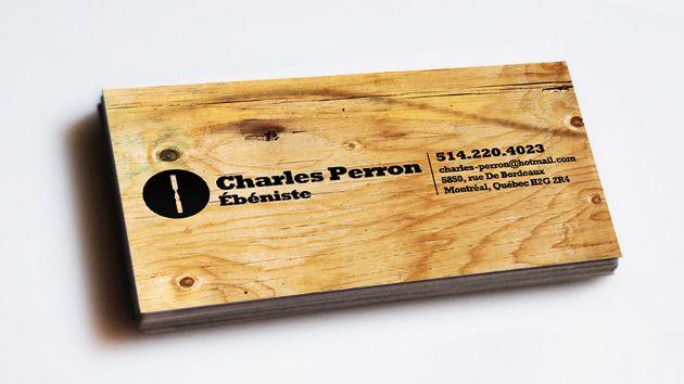 24 wooden business card designs unique business cards 14 colourmoves