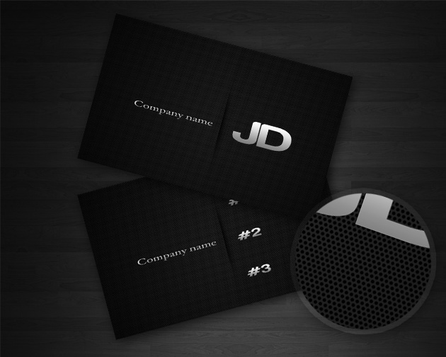Carbon business card template unique business cards size reheart Gallery