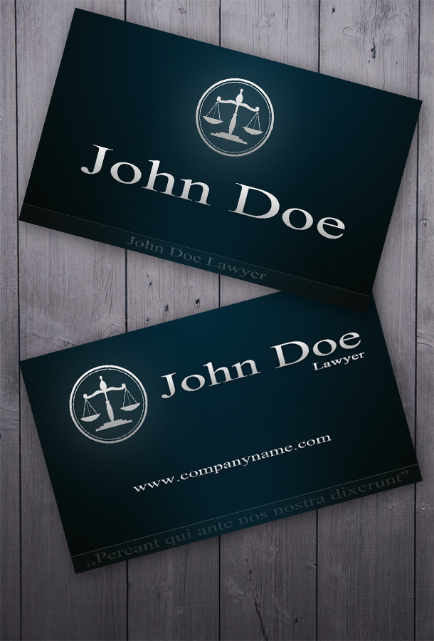 Business Card for Lawyers | Unique Business Cards