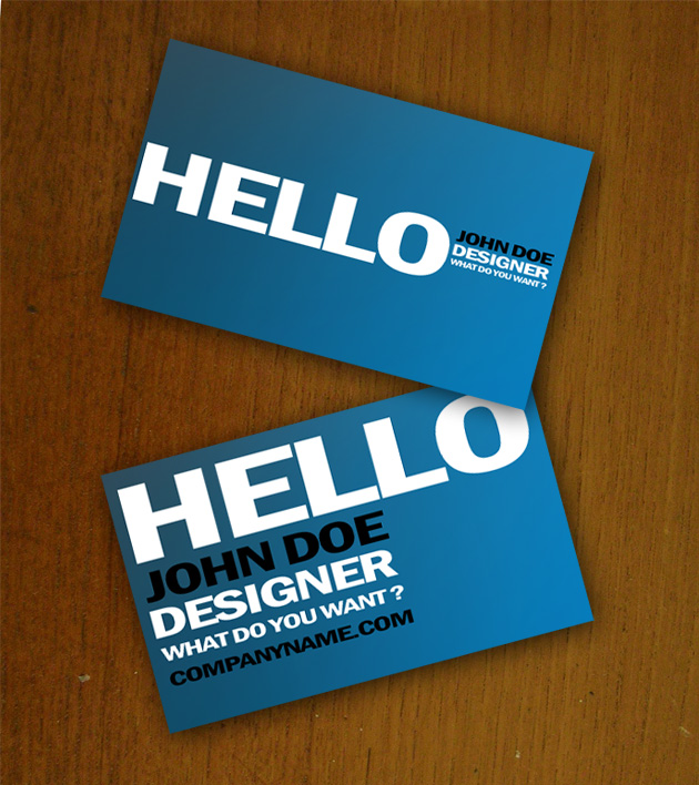Blue business card template unique business cards blue business card size wajeb Gallery