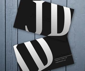 Creating a Dark Business Card