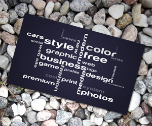 Business Card for Manager