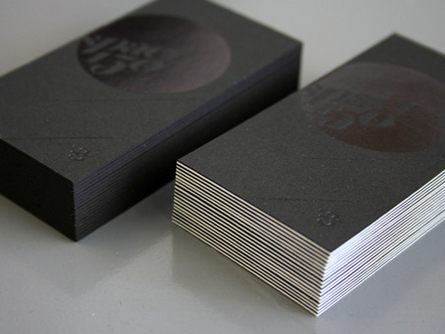 35 awesome black business cards unique business cards black business card by beast pieces 35 reheart Choice Image