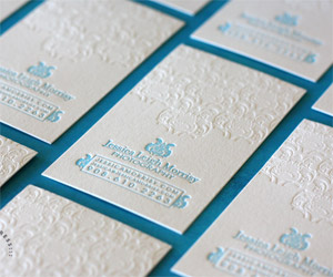 Premium and unique business card templates part 6 40 letterpress business cards reheart Image collections