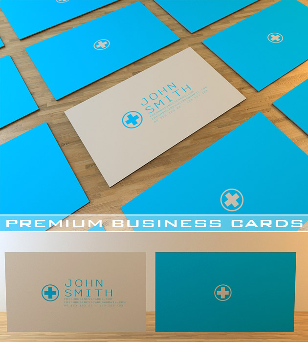 font - Medical Business Cards