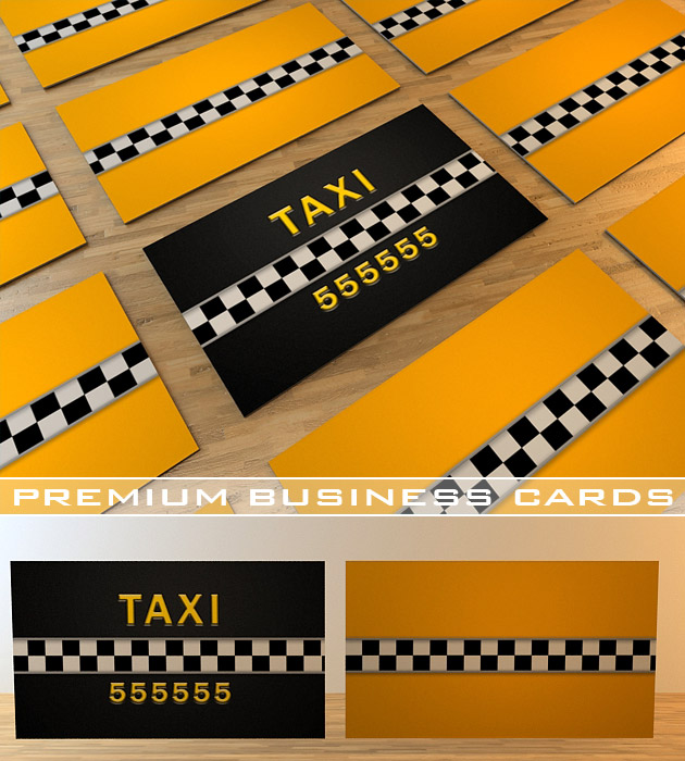 taxi business card - Taxi Business Cards
