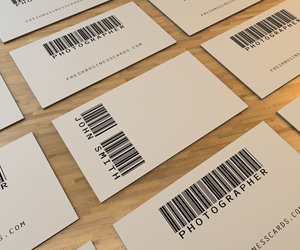 Barcode Business Card