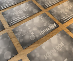 Premium Bokeh Business Card