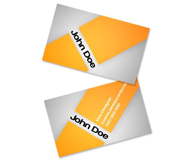 Orange business cards tutorial unique business cards step 1 reheart Choice Image