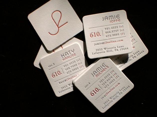 35 Square Business Cards Unique Business Cards