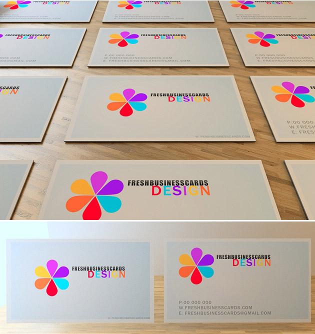 Business card with logo unique business cards font colourmoves