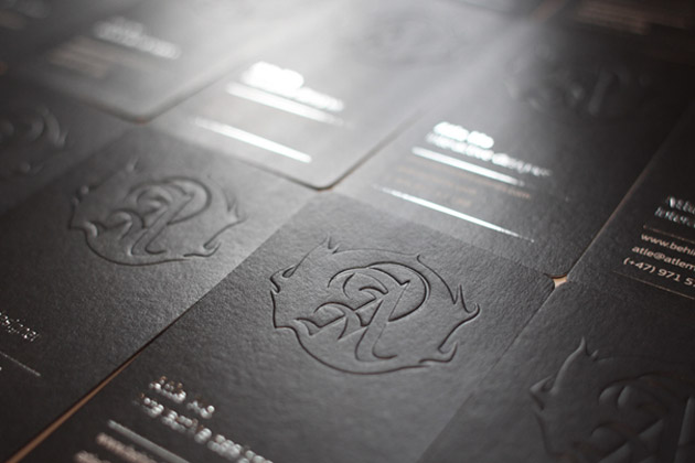 Embossed Business Card By Atleto 6