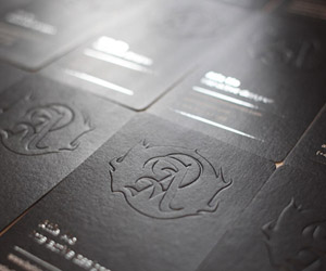 40+ Embossed Business Cards