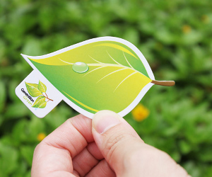 30 Stunning Eco Business Cards