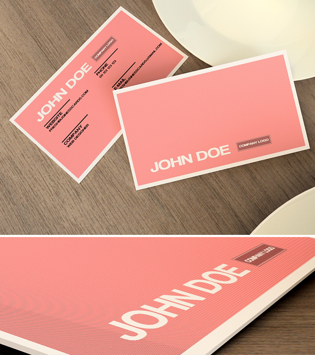 Pink business card unique business cards pink business card colourmoves