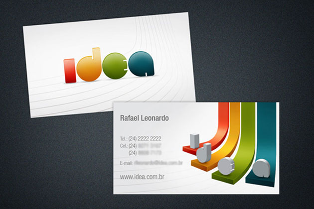 Designing colorful business cards unique business cards use the brand colourmoves Choice Image