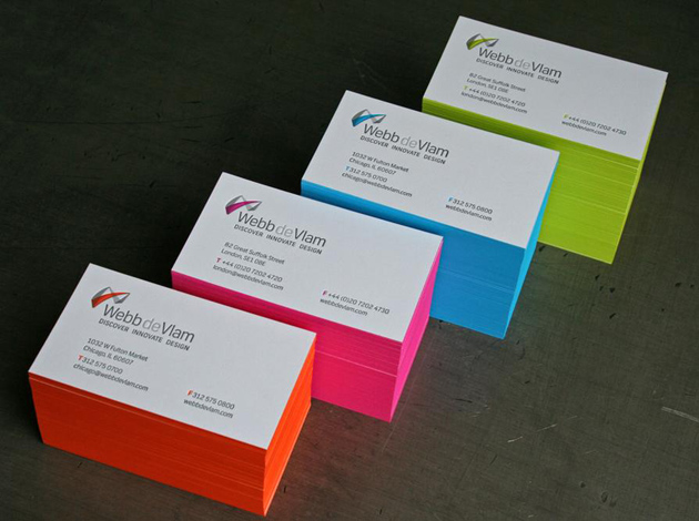 30 examples of neon business cards unique business cards 3 colourmoves Images