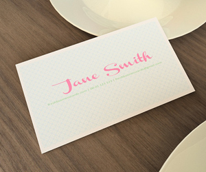 Sweetheart Business Card Template