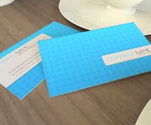Subtle Business Card Template