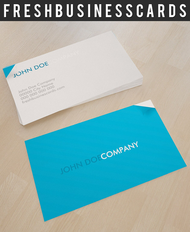 Blue Business Card for Printing House | Unique Business Cards