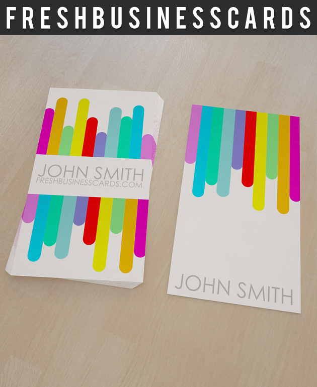 Colorful business card template unique business cards colorful business card colourmoves