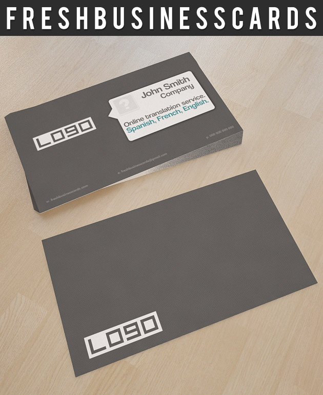 Simple Business Card PSD Template | Unique Business Cards