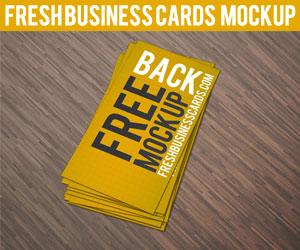 Business Card Mockup II